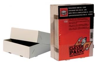 , Paraatdoos CleverPack A5 218x155x55mm voor 500vel wit 10st