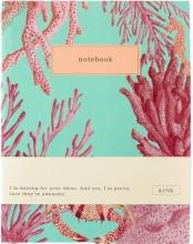 , &INK Notitieboek Aqua