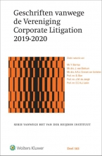 Y. Borrius , Geschriften vanwege de Vereniging Corporate Litigation 2019-2020