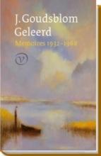 Johan  Goudsblom Geleerd. Memoires
