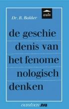 Reina Bakker , Geschiedenis van het fenomenologisch denken