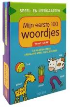 ZNU Speel- en leerkaarten - Mijn eerste 100 woordjes vanaf 1 jaar