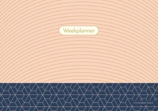 ZNU , Weekplanner - Pink Patterns