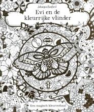 Johanna Basford , Evi en de kleurrijke vlinder