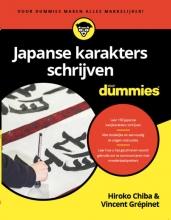 Vincent Grépinet Hiroko Chiba PhD, Japanse karakters schrijven voor Dummies