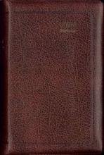 , Bijbel (SV) met psalmen (ritmisch) - met goudsnee, rits en duimgrepen