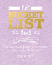 Elise de Rijck , Het Bucketlist Boek voor grootouders