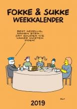 John  Reid, Bastiaan  Geleijnse, Jean-Marc van Tol Fokke & Sukke weekkalender 2019