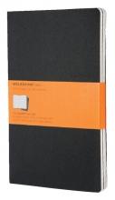 , Schrift Moleskine 130x210mm lijn160blz large zwart