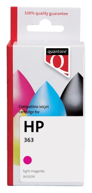 ,Inktcartridge Quantore HP C8775EE 363 lichtrood