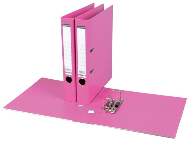 ,Ordner Quantore A4 50mm PP roze