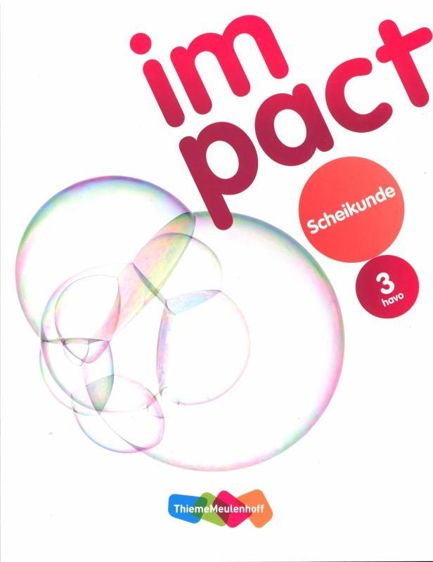 Peter Haadsma, Tom Heutmekers, Michel van den Hoek, Mirjam Molenkamp,Impact Scheikunde 3 havo leer/werkboek