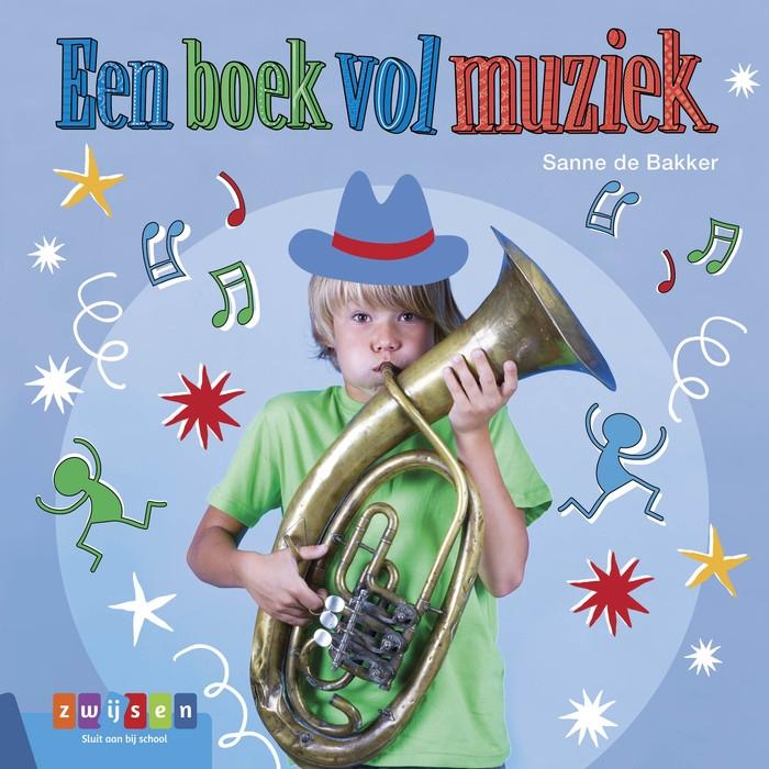 Sanne de Bakker,Een boek vol muziek