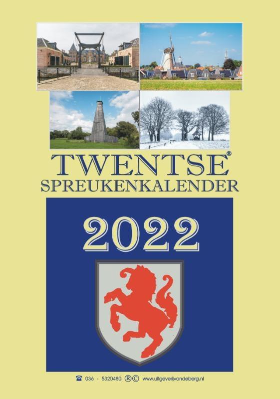 ,Twentse spreukenkalender 2022