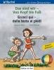 Böse, Susanne,Das sind wir - Von Kopf bis Fuß. Kinderbuch Deutsch-Italienisch