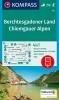 ,Berchtesgadener Land, Chiemgauer Alpen 1:50 000