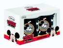 ,MICKEY MOUSE EMAILLE MUGS (SET VAN 2)
