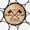 <b>Lars  Mytting</b>,De man en het hout - kleur-en doeboek voor volwassenen