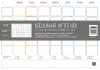Rianne van Essen ,Weekplanner notitieblok
