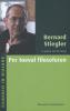 <b>Bernard  Stiegler</b>,Per toeval filosoferen