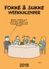 <b>John  Reid, Bastiaan  Geleijnse, Jean-Marc van Tol</b>,Fokke & Sukke weekkalender 2019