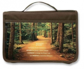 Inspiration Serenity Prayer Large Book & Bible Cover