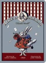 Alice in Wonderland Stitch Small Lined Notebook
