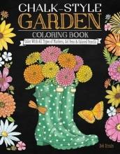 Deb Strain Chalk-Style Garden Coloring Book