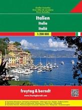 Italië Wegenatlas F&B