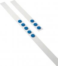 , Wandlijst Desq 100cm met 5 blauwe magneten 32mm
