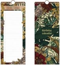 , Verjaardagskalender botanic