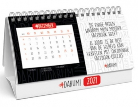 , Desk kalender 2021 darum! 21x14