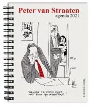, Peter van Straaten weekagenda 2021