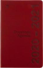 520doc110.ro , Schoolagenda docenten 2020-2021 deluxe rood