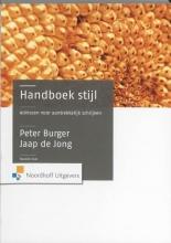 P. Burger , Handboek stijl