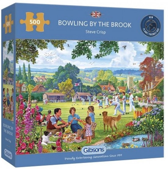 Gib-g3125,Puzzel bowling by the book gibsons 500 stuks