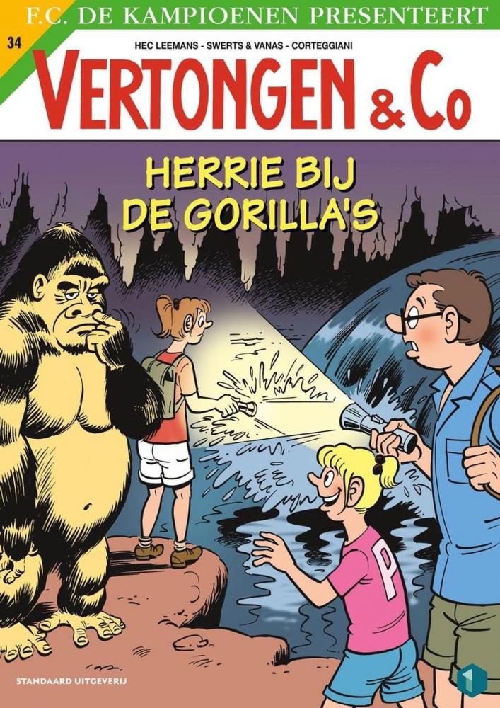 Hec Leemans, Swerts & Vanas,Herrie bij de gorilla`s