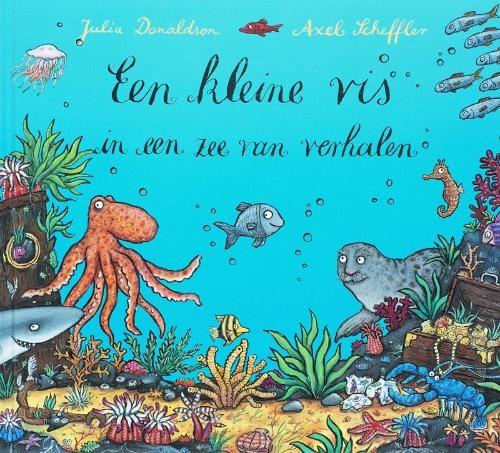 Julia  Donaldson,Een kleine vis in een zee van verhalen