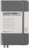 <b>Lt344775</b>,Leuchtturm notitieboek pocket 90x150 lijn anthraciet