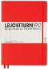,<b>Leuchtturm notitieboek master slim a4 points/bullets red</b>
