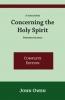J. Owen, Concerning The Holy Spirit