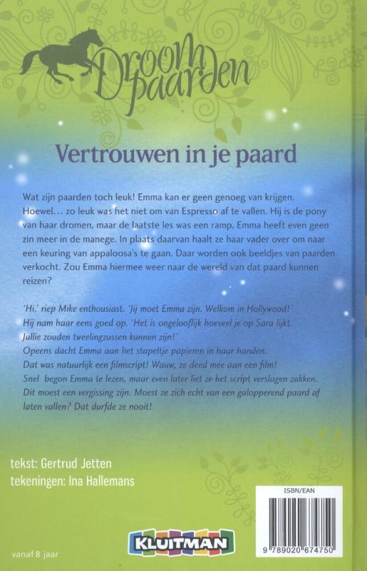 Gertrud Jetten,Vertrouwen in je paard
