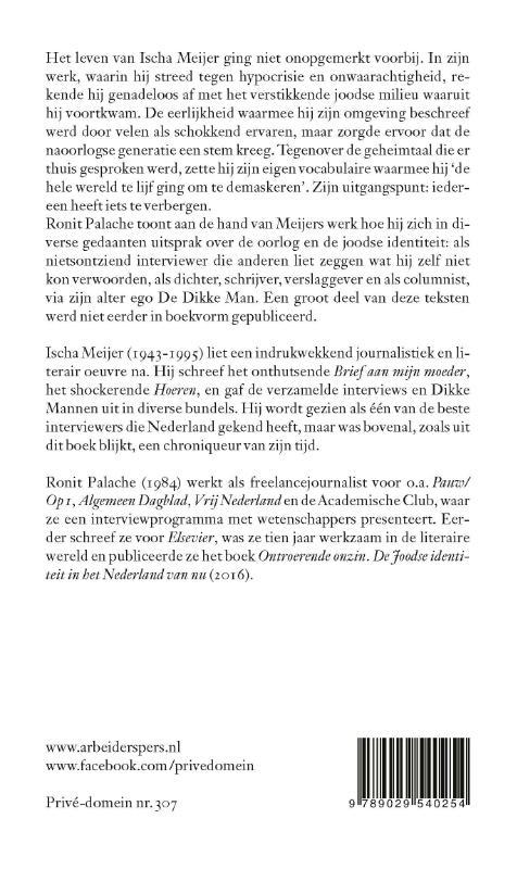Ischa Meijer,Ik heb niets tegen antisemieten, ik lééf ervan
