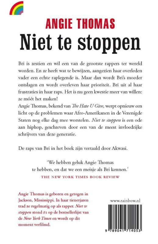 Angie Thomas,Niet te stoppen
