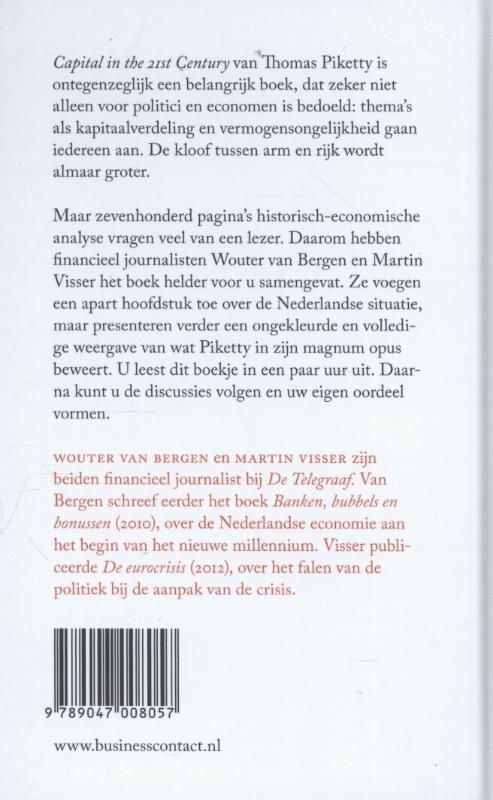 Wouter van Bergen, Martin Visser,De kleine Piketty
