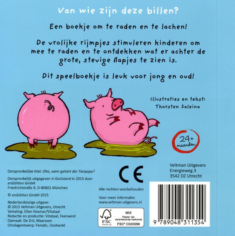 Thorsten Saleina,Van wie zijn deze billen?
