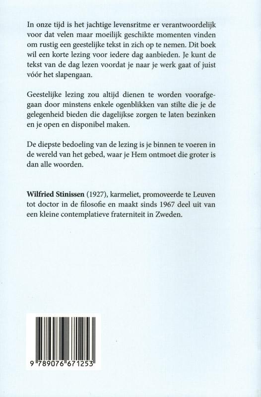 Wilfried Stinissen,Elke dag is de dag van God
