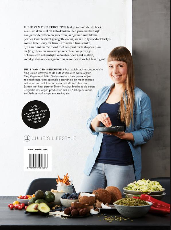 Julie van den Kerchove,Het Keto-plan