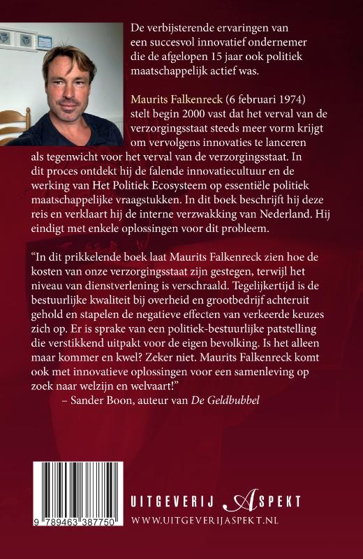 Maurits Falkenreck,Neerwaarts Nederland