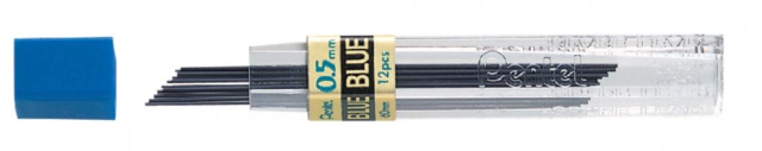 , Potloodstift Pentel 0.5mm blauw per koker